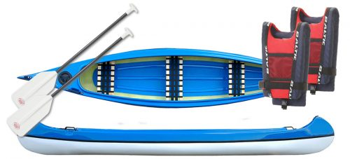 kanotpaket blå