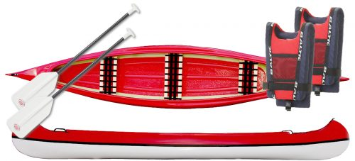 kanotpaket röd